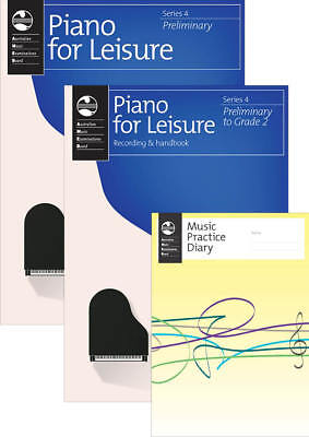 AMEB Piano for Leisure Series 4 Student Pack Preliminary 1201095839 NEW