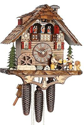 Hekas 3729/8 Cuckoo Clock.. New!! (Authentic German/black Forest)
