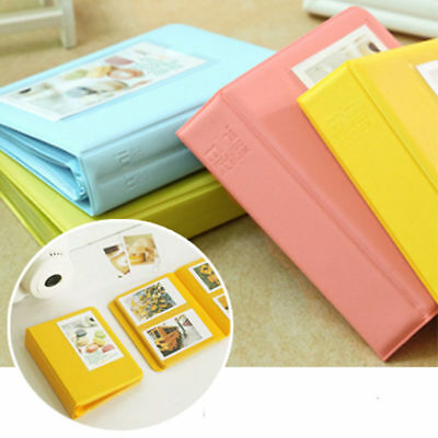 Photo Album Storage Case 64 Pockets For FujiFilm Instax 7 7S 8 Camera Film Gift