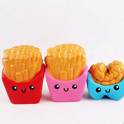Soft Squishy kawaii French Fries Cream Scented Squeeze Second Slow Rising Toy