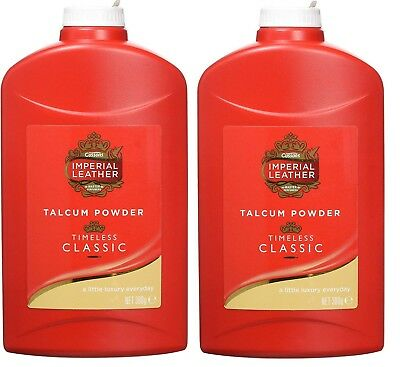 2x Imperial Leather Talc Original 300 g