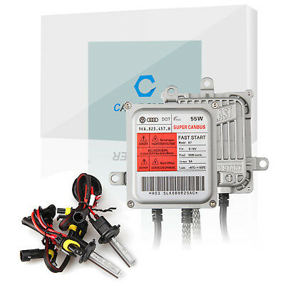 55W AC HID-Xenon-Umbausatz Voll Canbus H7 10000K