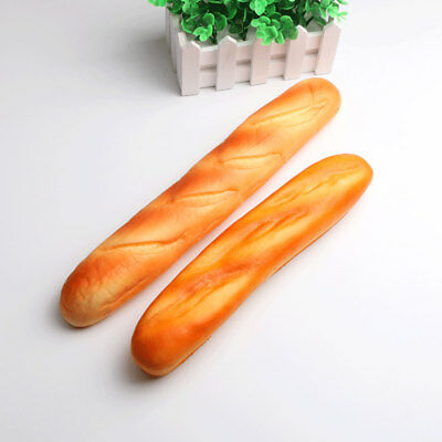 HOT French Baguettes Jumbo Squishy Keyboard Hand Pillow Scent Loaf Bread Toy