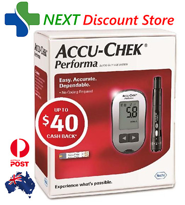 Accu-chek Performa Meter Kit with up to $40 cashback Voucher*..