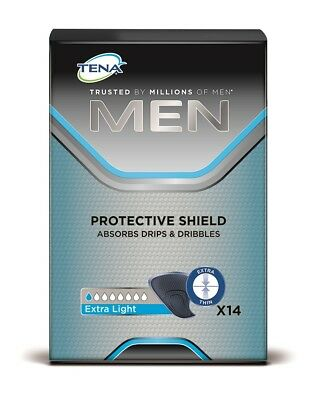 TENA Men Protective Shield Extra Light (Packung 14 St.)