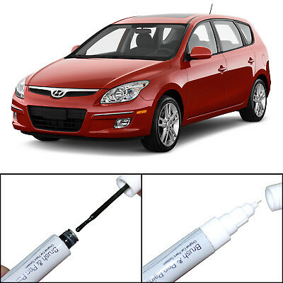 Touch Up Paint Scratch Repair Pen&Brush For Elantra GT 2007-2011