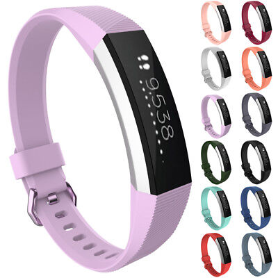 For Fitbit Alta/Alta HR Replacement Sports Soft Silicone Band Strap Bracelet Red