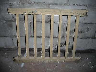 Antique Victorian Style Wood Porch Railing - C. 1890 Fir Architectural Salvage
