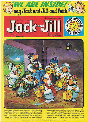 Jack And Jill: British Comic 1980: Tiger Tim & Bruin Boys, Wombles, Harold Hare