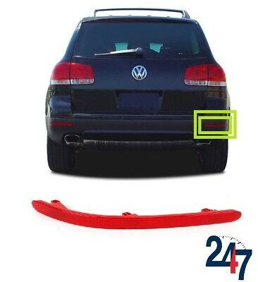 New Volkswagen Touareg 2003-2010 Rear Bumper Red Reflector Light Right O/S