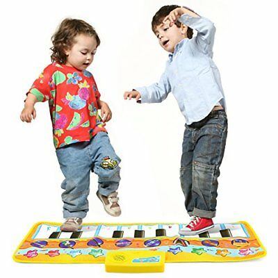 Toy Piano Keyboard Play Mat Musical Toy For Baby Christmas Xmas Gift For Toddler