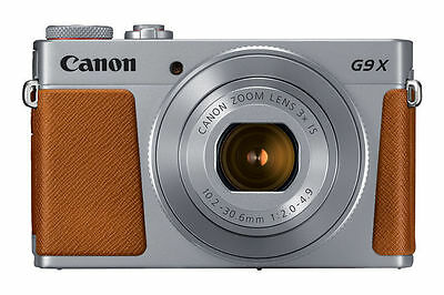 Canon PowerShot G9 X Mark II 20.1MP Digital Camera - Silver #G9XII