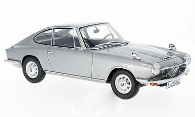 BMW 1600 GT 1968 - silber - 1:18 BOS  >> NEW <<