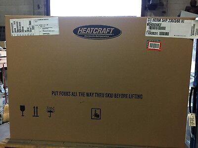 Overstock Heatcraft outdoor condensing unit MOH050D68CF 230v/3ph 5hp R404a HT