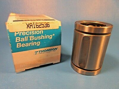 NEW Thomson A61014-SS 0.375 in Precision Steel Ball Bushing Linear Bearing