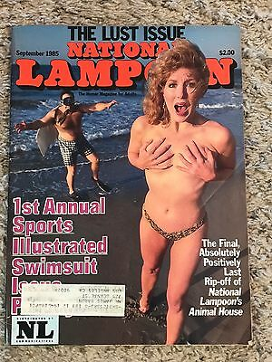 National Lampoon Magazine The Lust Issue September 1985 Back Issue