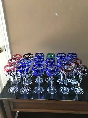 Antique Hungarian Wine Goblets