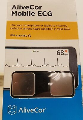 Alive Cor Mobile Wireless Eletrocardiogram ( Ecg Or Ekg ) For Apple And Android