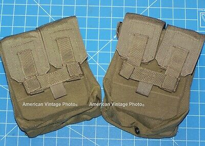 Shotgun Ammo Pouch New Coyote MOLLE Military USMC Eagle Industries & Shelby P38