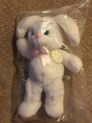"Precious Moments 15"" Plush Bunny New in Package Rare Tender Tails #1758"