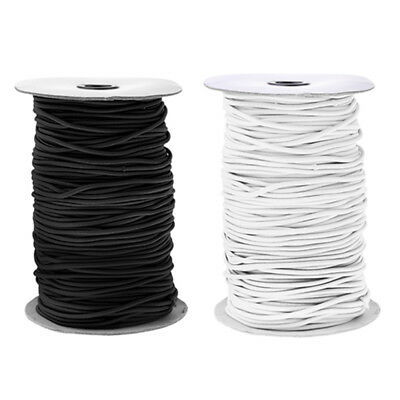 2mm Dia. Elastic Shock Cord Round Bungee Rope 0.5/1/2/5/10/20/30/50/100/150m