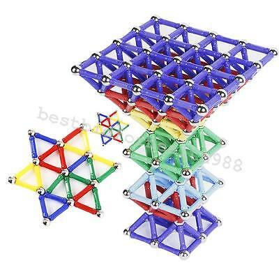 60PC Magnetic Building Blocks Construction Children Toys Educational Block Child