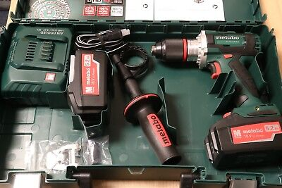 Metabo BS 18 LTX BL I 18v Cordless Drill Driver Kit (2) 5.2Ah Batteries *Germany