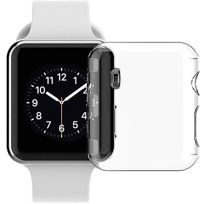 New Anti-Scratch Hard Snap On Case Cover Shell Screen Protector for Apple Watch
