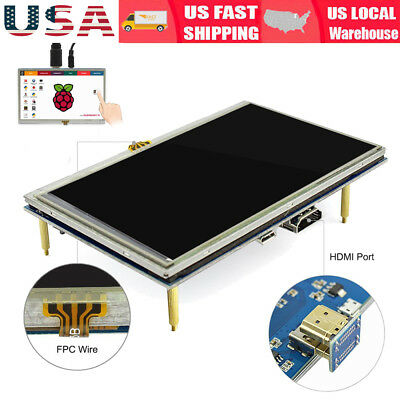 5 inch HDMI TFT LCD Resistive Touch Screen Monitor 800×480 Raspberry  for RPi ES