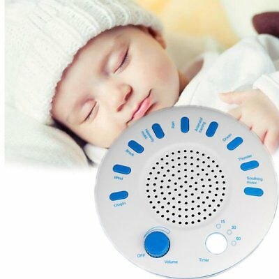 Sound Spa Sleep Relax Enhanced Machine White Noise Nature Peace Therapy 9 Sounds