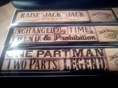 jack daniels stickers (3 different all new never used)