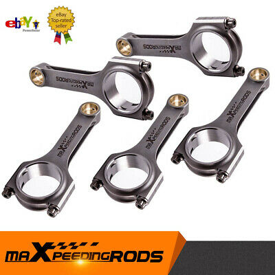 4340 Connecting Rod Con Rods Conrod for Audi RS2 S2 Quattro 2.2L 20V Racing CRC