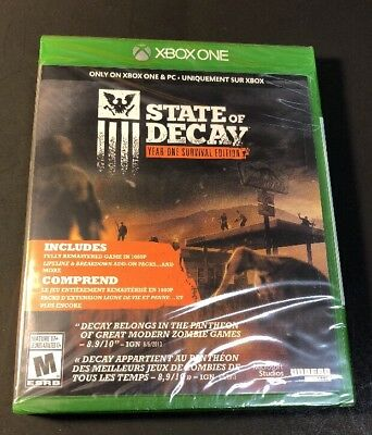State of Decay [ Year One Survival Edition ] (XBOX ONE) NEW