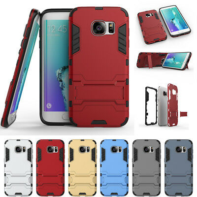 For Samsung Galaxy S7 S8 Note 8 Case Hybrid Stand Shockproof Hard Rugged Cover