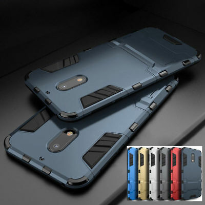 Hybrid Shockproof Armor Rugged Case Kickstand Cover Skin For Nokia X6 3 5 7 8 9