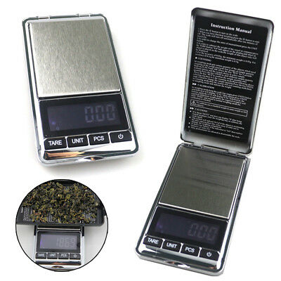 Electronic Pocket Mini Digital Gold Jewelry Weighing Scales 0.01G to 500G Grams