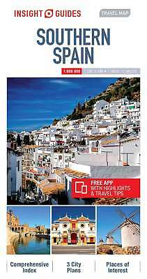 Insight Travel Map Southern Spain, Insight Guides, New Book