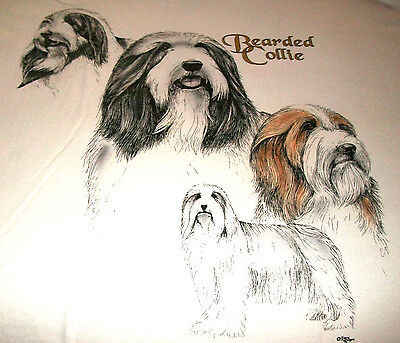 "Bearded Collie Sweatshirt  "" Natural  "" Medium ( 38 ~ 40 )"