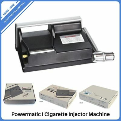 Powermatic Cigarette Rolling Injector Machine Make KING 100's Cigarettes Maker