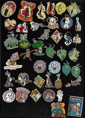 #23 Disney Pin Pins Choose: 101 Dalmatians, Aristocats, The Large Crawl