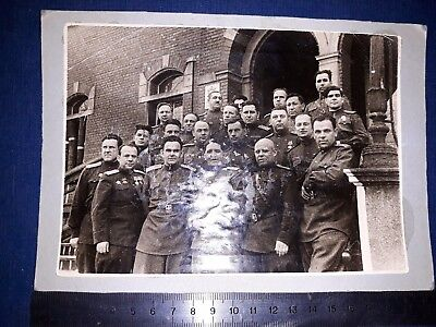 Foto  Soviet Russian RED ARMY  RKKA 1945 Military