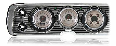 1964 - 1965 Chevy Chevelle Direct Fit Gauge American Nickel CV64AN