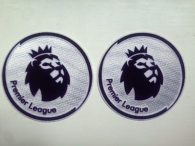 NEW 2018/19  Premier League Leicester City Shirt Sleeve Patches Badge x2