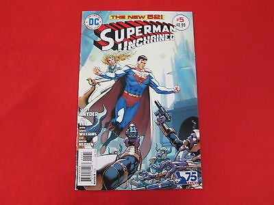 Superman Unchained #5 Extremely Rare 1:50 Bronze Age Variant Cover Nm/m