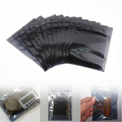 10/30Pcs Anti-Static Shielding Zip Lock Storage Self Seal Antistatic Bags 3 Size