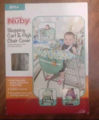 NUBY Baby Seat Shopping Cart & High Chair Cover Unisex - NEW