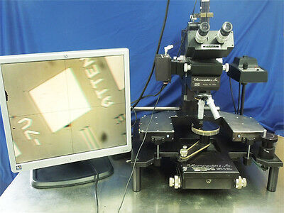 Micromanipulator 6000  Probe Station With 2 Manipulators (1 Yr Parts Warranty)