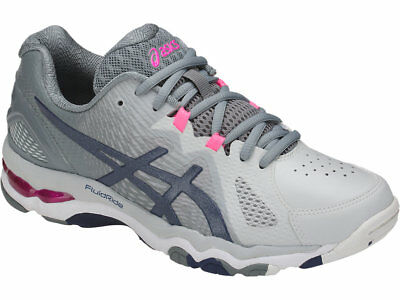 Asics Gel Netburner Super 8 Womens Netball Shoes (B) (9649)