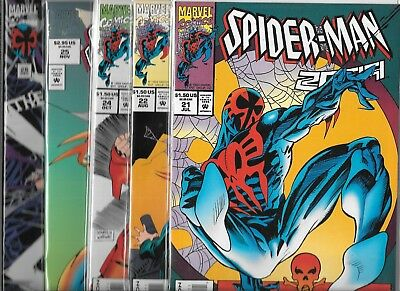 Spider-Man 2099 Lot Of 5 - #21 #22 #24 #25 Deluxe #26 (Nm-)
