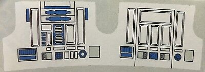 Vintage Star Wars - Replacement Sticker for R2-D2